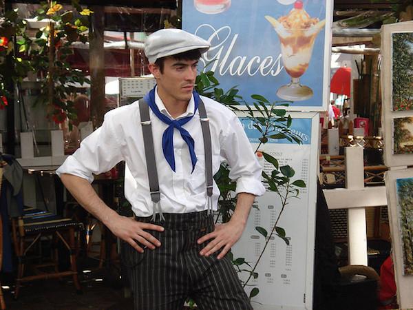 Paris waiter
