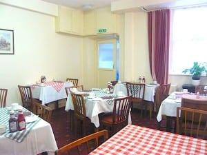 Ridgemount Hotel Breakfast Room