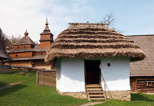Skanzen at Bardejovske Kupele, Slovakia