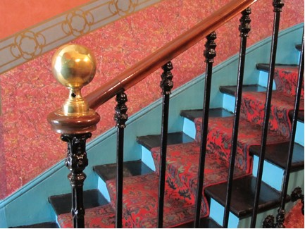 Hotel de Nice stairs