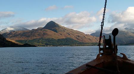Scotland by ferry