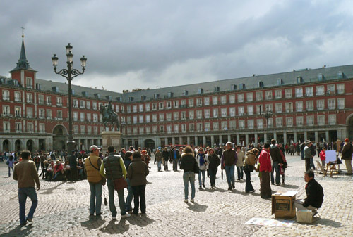 Madrid is a quick ride from Barcelona thanks to frequent express trains. Photo: Regina W Bryan