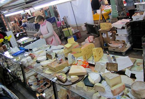 Paris cheese market