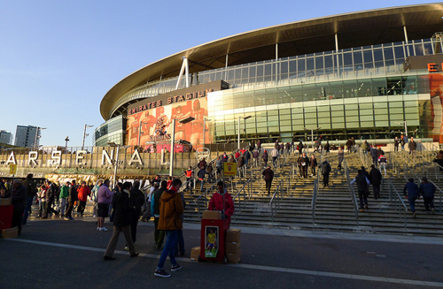 Emirates Stadium is home to Arsenal Football Club and is open for tours. Photo: Alvin Leong