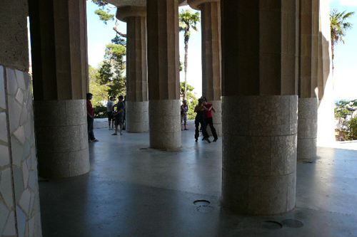 Park Guell shade