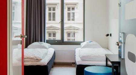 Generator Hostel Hamburg is a bright, modern lodging option where rooms start at €25. Photo: Courtesy of Generator