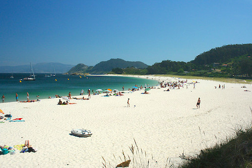 Islas Cies offers pristine beaches to travelers who don't mind roughing it a bit. Photo: darkhornet