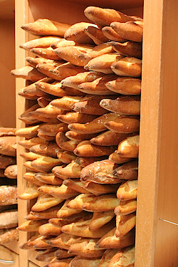 "Go for a ""tradition""! Baguettes at La Grande Epicerie in Le Bon Marché. Photo: kanuck"