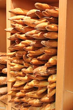 "Go for a ""tradition""! Baguettes at La Grande Epicerie in Le Bon Marché. Photo: kanuck"