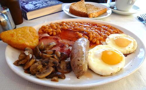 Do... partake in the Full English Breakfast experience. Photo: Ewan Munro