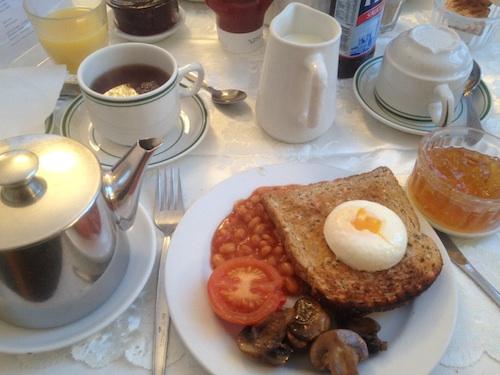 Celtic Hotel London Breakfast