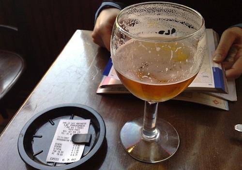 Paris Beer Glass