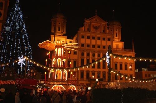 Augsburg Christmas Market. Photo: Peter