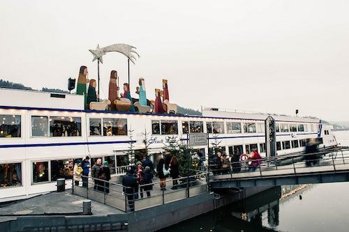 Celebrate the Christmas season along the Danube in Vilshofen. Photo: ashchand