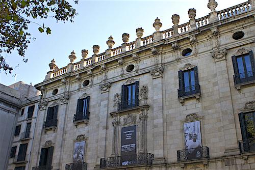 Virreina Palace Barcelona