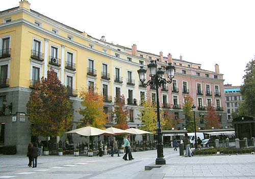 Near Teatro Real in Madrid