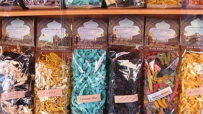 Venice pasta selection