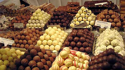 Fine chocolate in Vienna