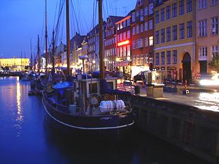 Where is this delightful harbor scene?
