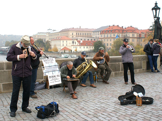 Prague Charles Bridge Band