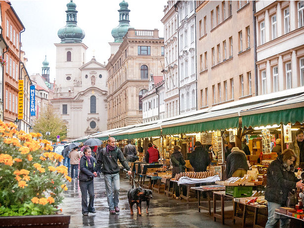 Havelska Market Prague
