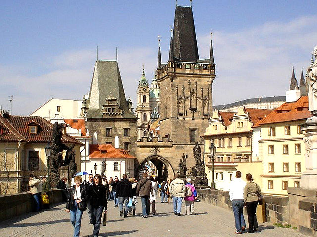 Mala Strana Bridge Tower Tourist Booth