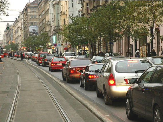 Cars in Prague