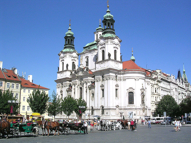 St. Nicholas Church Old Town Square