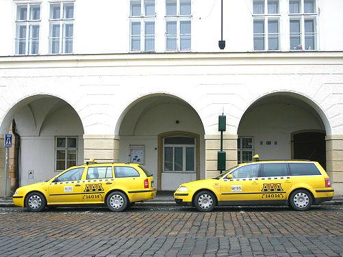 Taxis Prague