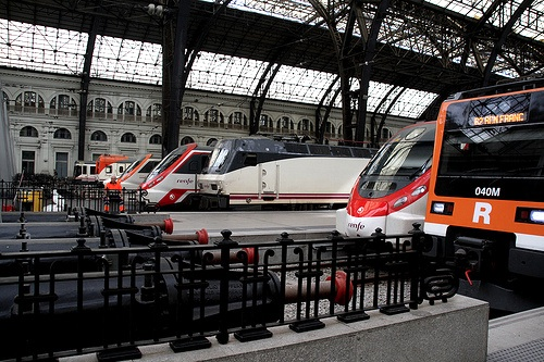 barcelona trains