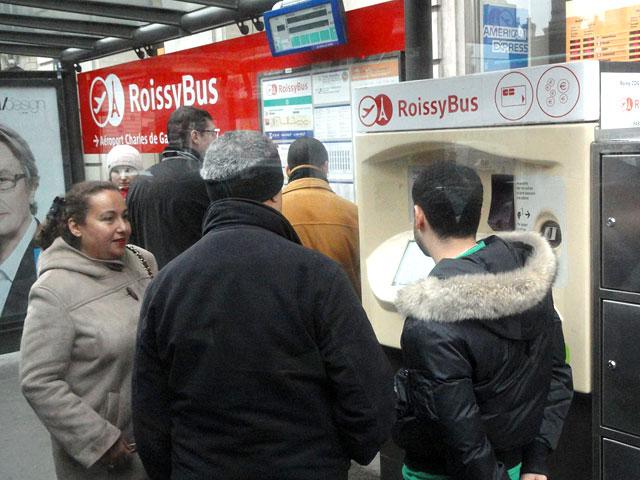 paris bus tickets