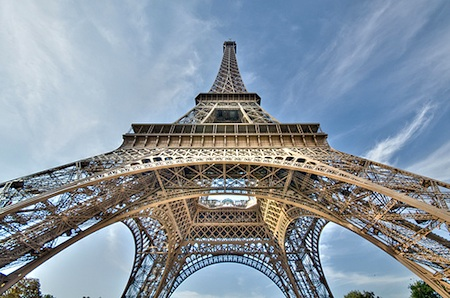 Visiting The Eiffel Tower
