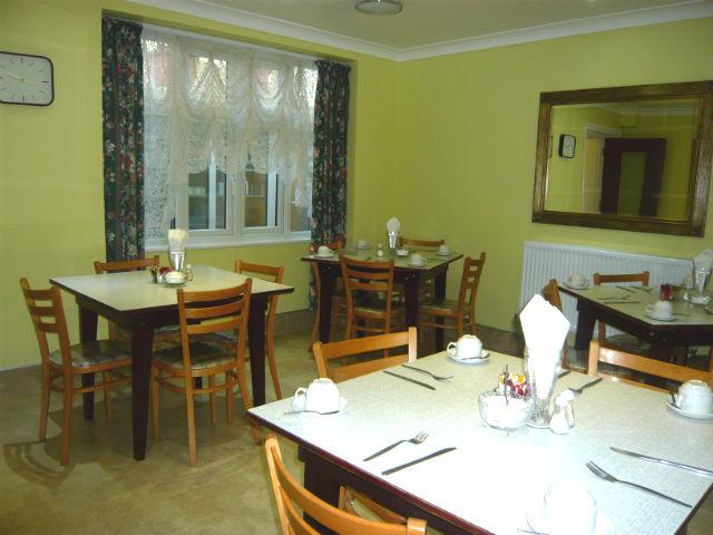MacDonald Hotel Breakfast Room