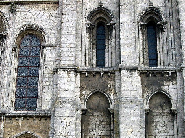 Chartres Cathedral Wall