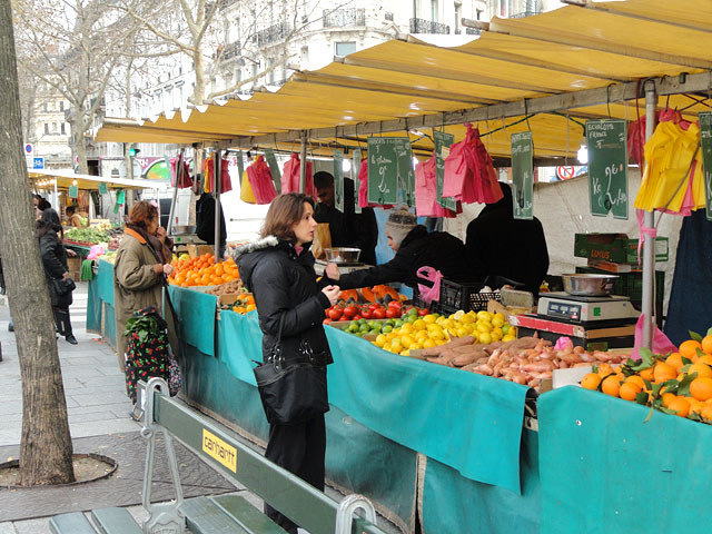 Outdoor Market Paris