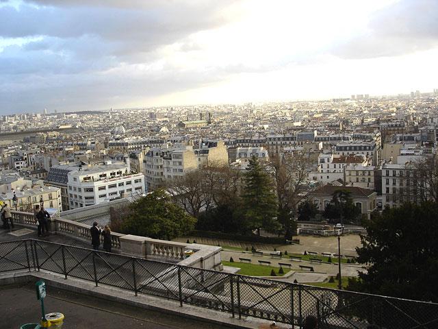 View from Sacre Coeur Paris