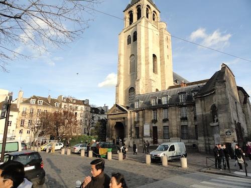 St Germain des Pres Paris